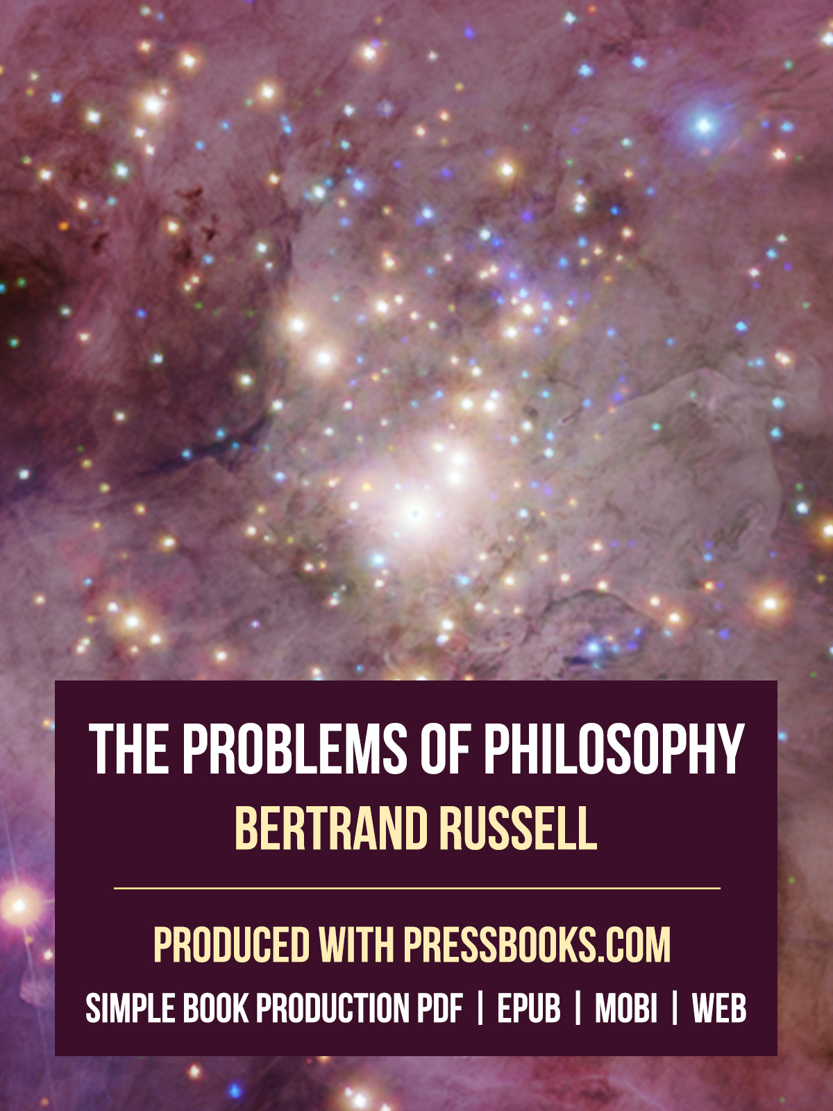 bertrand russell essay on appearance and reality Bertrand russell, problems of philosophy  cause most trouble in philosophy --  the distinction between 'appearance' and 'reality', between what things seem to.